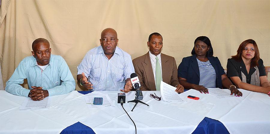 La Red dominico haitiana aboga por unas relaciones armoniosas entre haitianos y dominicanos. /GABRIEL ALCÁNTARA.
