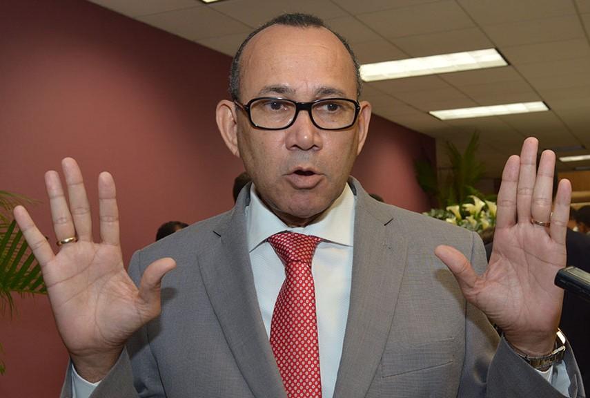 Víctor Castro, expresidente de la Asociación de Empresas Industriales de Herrera y la Provincia Santo Domingo (AEIH). /GABRIEL ALCÁNTARA.