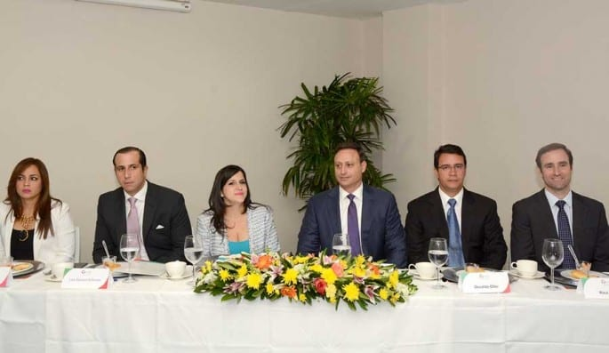 La Asociación Naacional de Jóvenes Empresarios realiza periódicamente el Desayuno Empresarial con figuras de los sectores público y privado./Lésther Alvarez