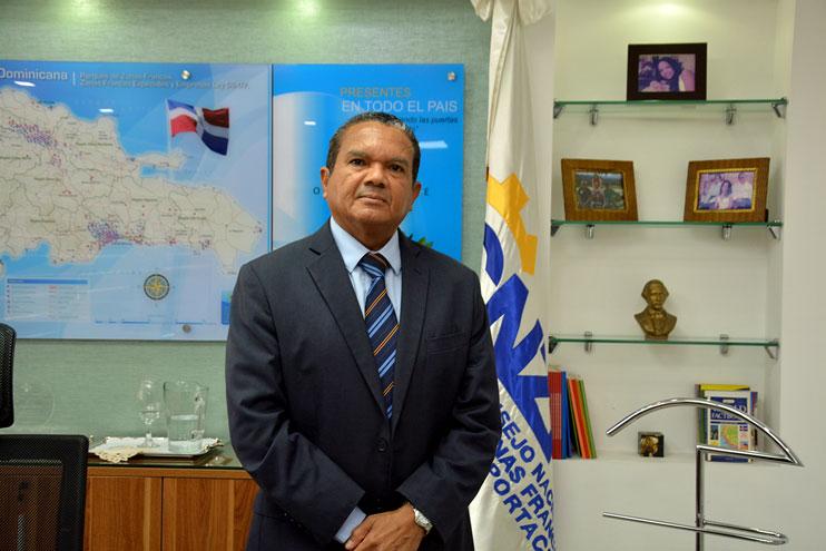 Daniel Liranzo, director del Consejo Nacional de Zonas Francas./Lésther Álvarez