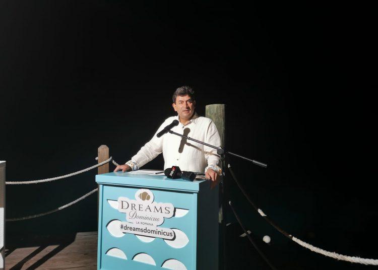 El vicepresidente regional de Operaciones en República Dominicana de la cadena hotelera AMResorts, Daniel Hernández.