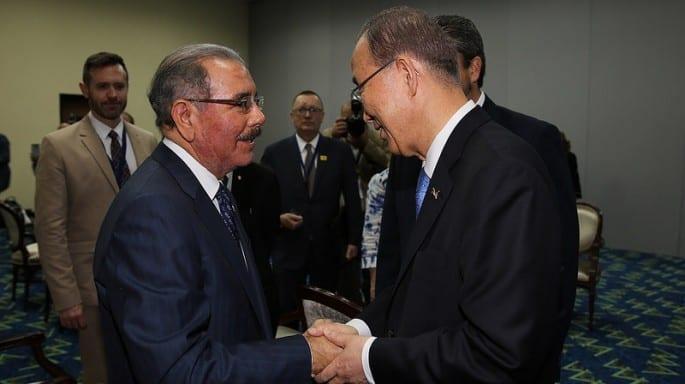 El secretario general de la  OEA fue receptivo de los planteamientos de Danilo Medina./elDinero