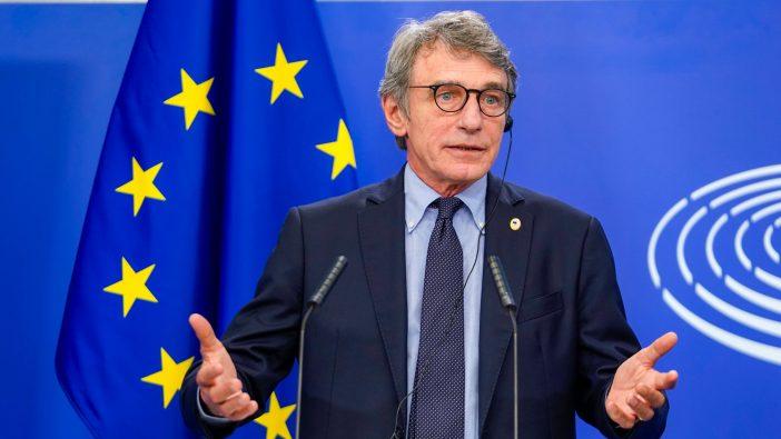 David Sassoli, Parlamento Europeo (PE)