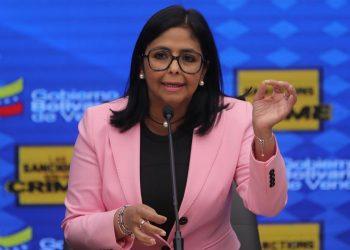 La vicepresidenta ejecutiva de Venezuela, Delcy Rodríguez. | Miguel Gutiérrez, EFE.