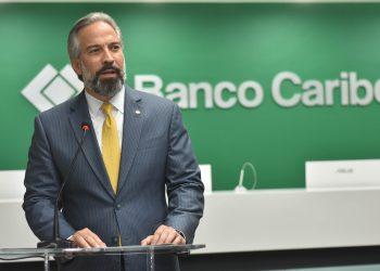Dennis Simó Álvarez, presidente ejecutivo de Banco Caribe.