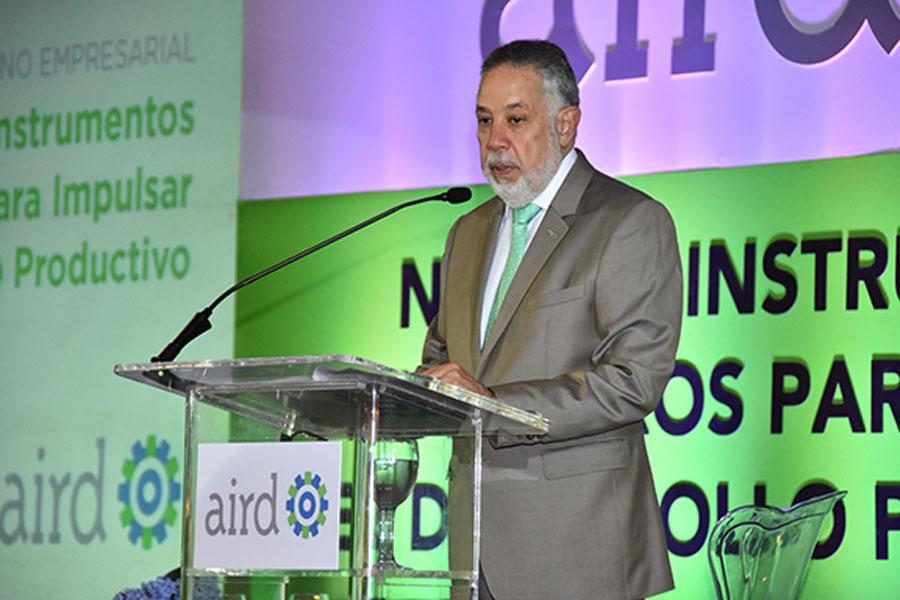 Campos de Moya, presidente de la Asociación de Industrias de República Dominicana.