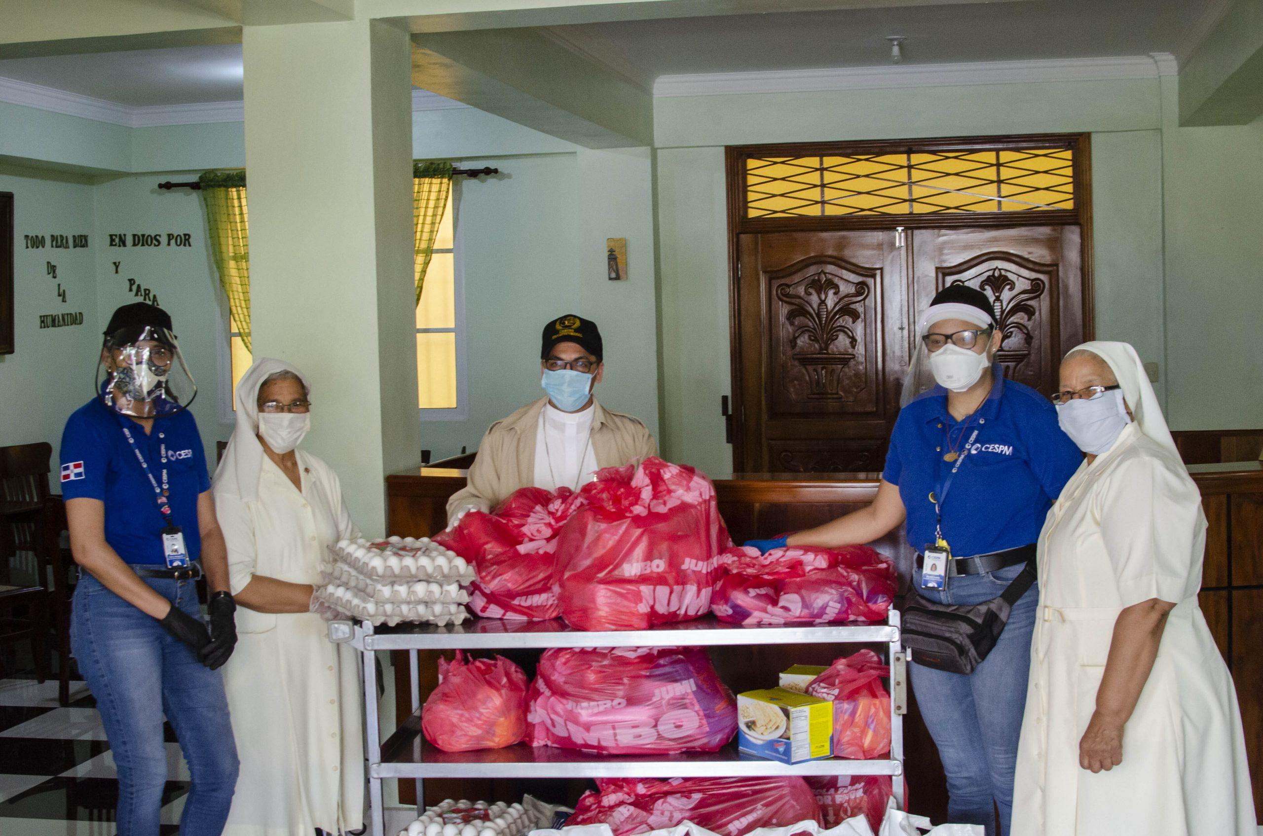 donacion geriatrico carl george hermanas de la caridad