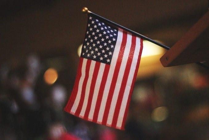 economía estadounidense, bandera EEUU