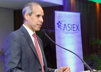 El presidente de Asiex, Edwin De los Santos. | Fuente externa.