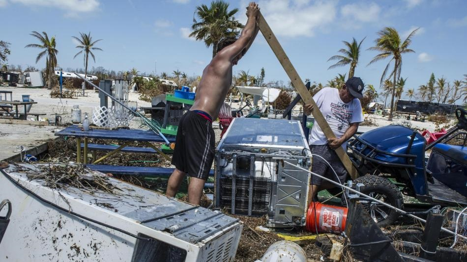 el caribe huracan irma