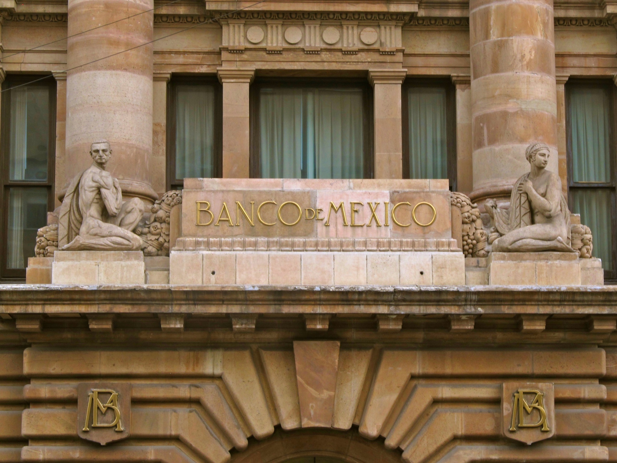 el banco de mexico panoramio