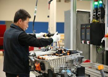 La producción industrial china registró un crecimiento interanual del 4.8% en el mes de julio. | Europa Press.