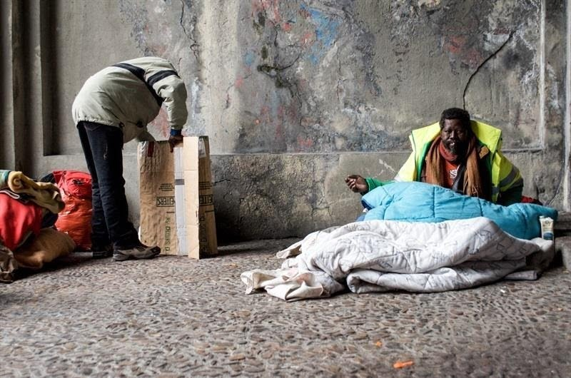 personas sin hogar, pobreza