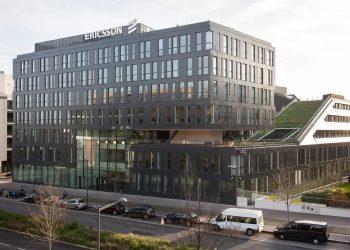 Sede de Ericsson en Massy, en los alrededores de París, Francia. | Europa Press.