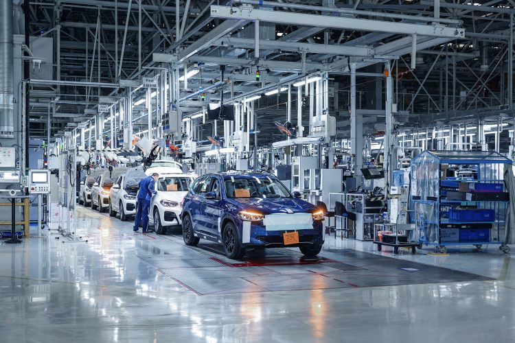 Imagen de una planta de producción de vehículos. | Europa Press.