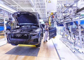 Fábrica de vehículos de Audi.   Europa Press.