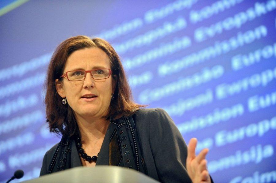 european commissioner cecilia malmstrom