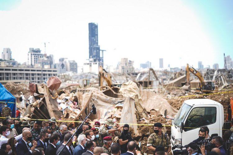 Explosión en Beirut, líbano 1