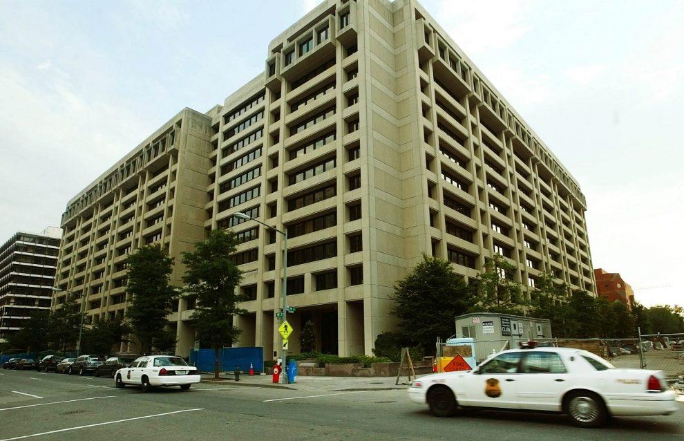 Sede del FMI en Washington./Fuente externa