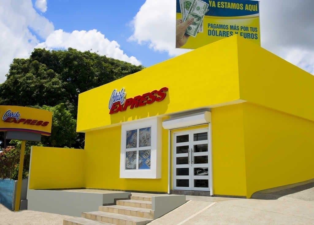 foto 1, fachada de caribe express