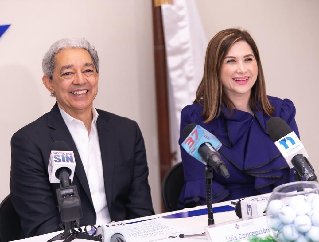 foto 1, luis concepción y odile miniño bogaert, presidente y vicepresidente ejecutiva de adoexpo.