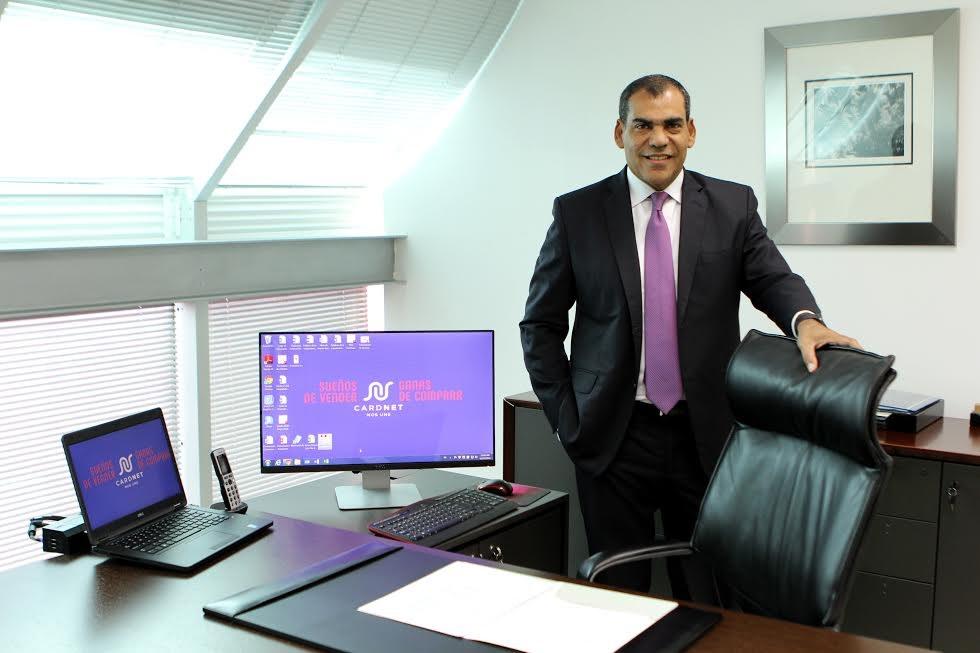 fotografia principal luis bencosme presidente ejecutivo del consorcio de tarjetas dominicanas cardnet