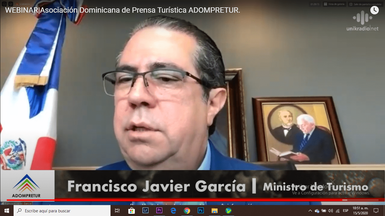 francisco javier garcia asociación dominicana de prensa turística