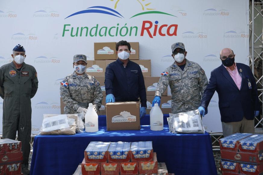fundación rica entrega donaciones a hospital ramón de lara