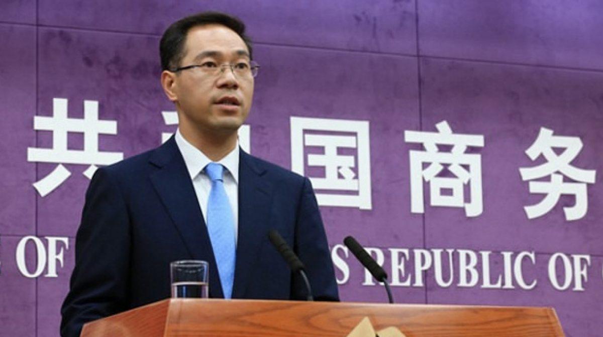 gao feng portavoz del ministerio de comercio china