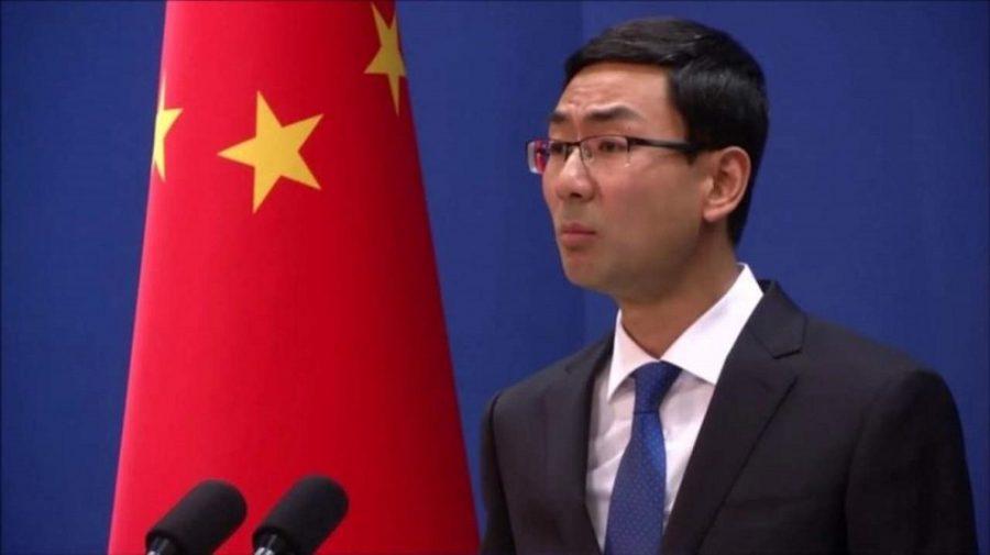 geng shuang, portavoz del ministerio de asuntos exteriores chino