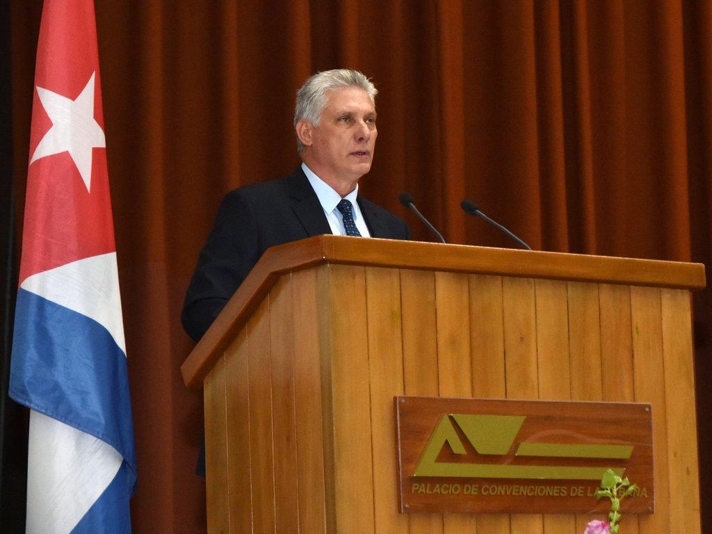 gobierno cubano miguel diaz