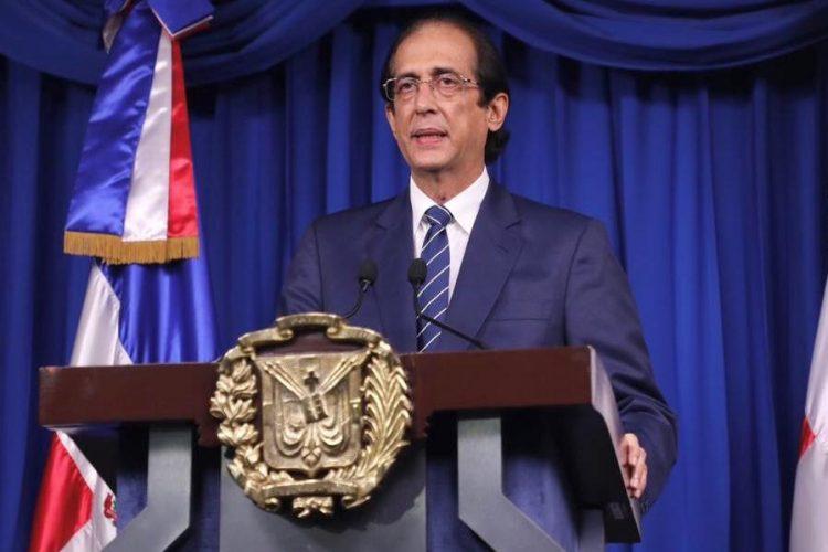 El ministro de la Presidencia, Gustavo Montalvo.