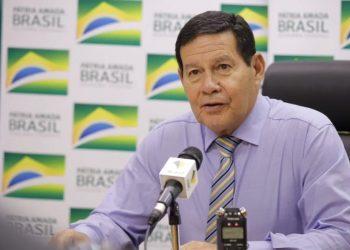 Hamilton Mourao, vicepresidente de Brasil. | Fuente externa.