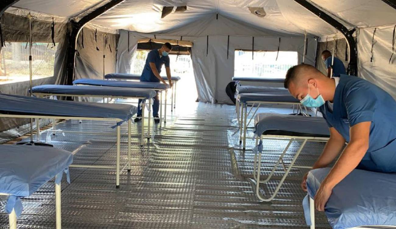 hospitales móviles colombia, coronavirus, covid 19