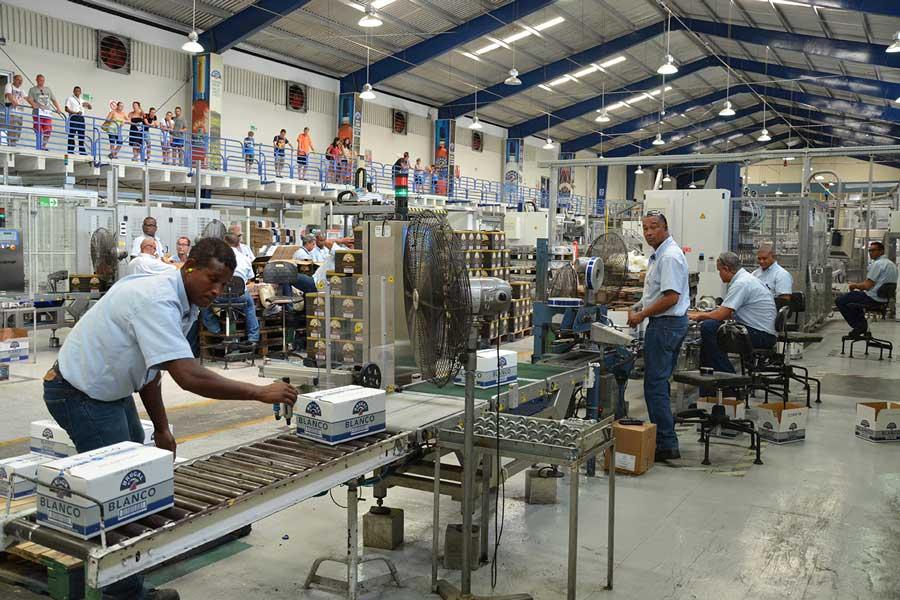 Industria del ron.