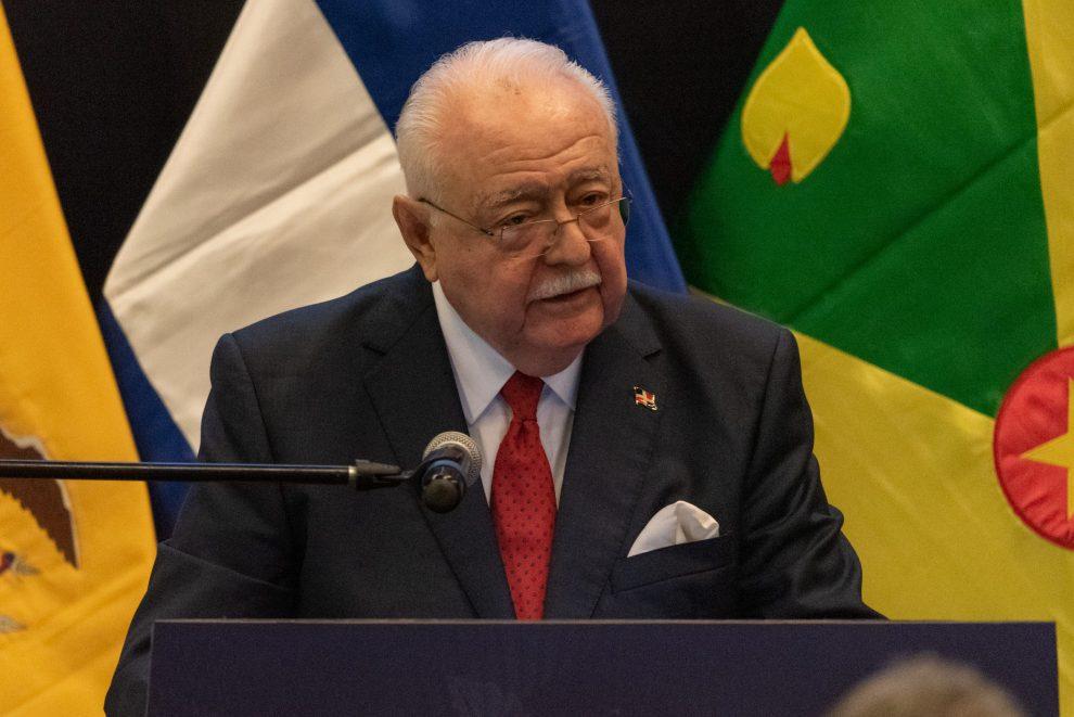 El ministro de Energía y Minas, Antonio Isa Conde
