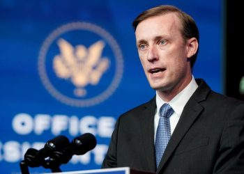 """El asesor de seguridad de la Casa Blanca, Jake Sullivan, afirmó que el retorno de EEUU a la OMS exige """"los más altos estándares"""", haciendo alusión a las investigaciones respecto al origen del covid-19 en China.   Joshua Roberts, Reuters."""