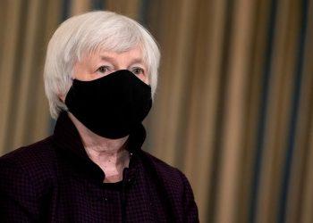 La secretaria del Tesoro de EEUU, Janet Yellen.   Stefani Reynolds, EFE.