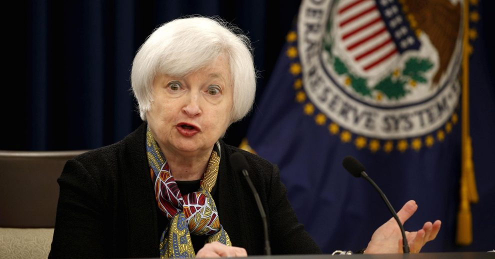 janet yellen, presidenta fed