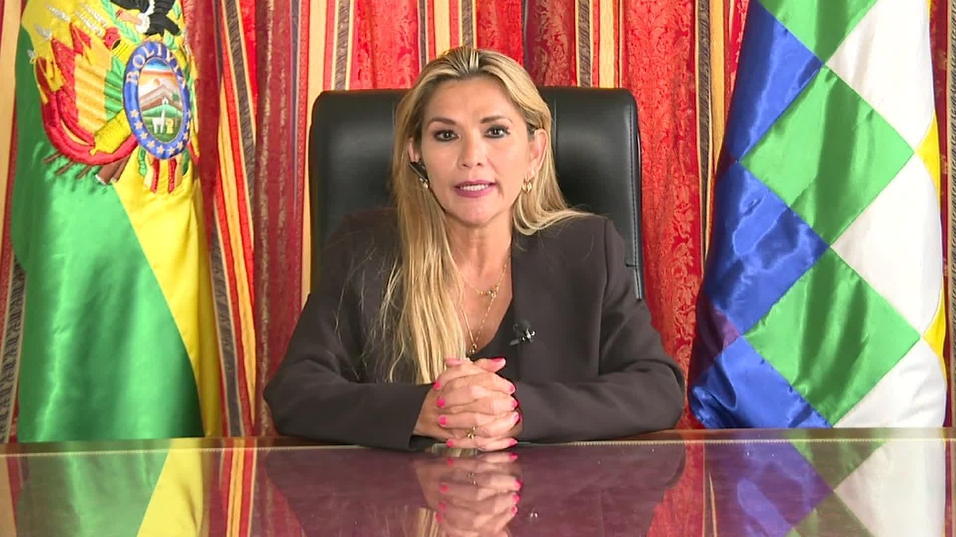 jeanine añez, presidenta bolivia