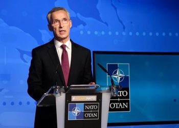 Jens Stoltenberg, OTAN 1