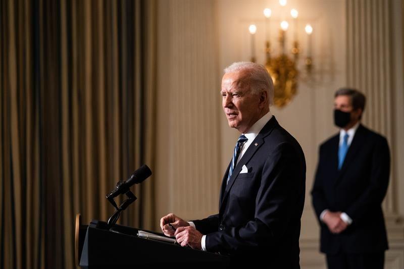El presidente de EEUU, Joe Biden. | Anna Moneymaker, EFE.