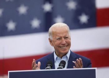 Joe Biden. | Leah Millis, Reuters.