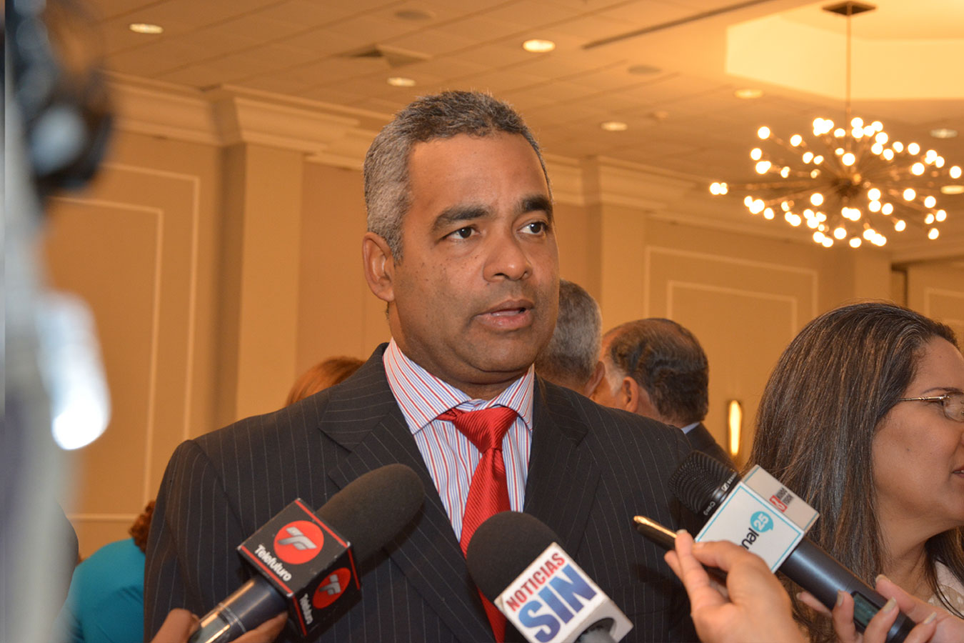 Joel Santos, es el nuevo presidente de Asonahores.| Gabriel Alcántara