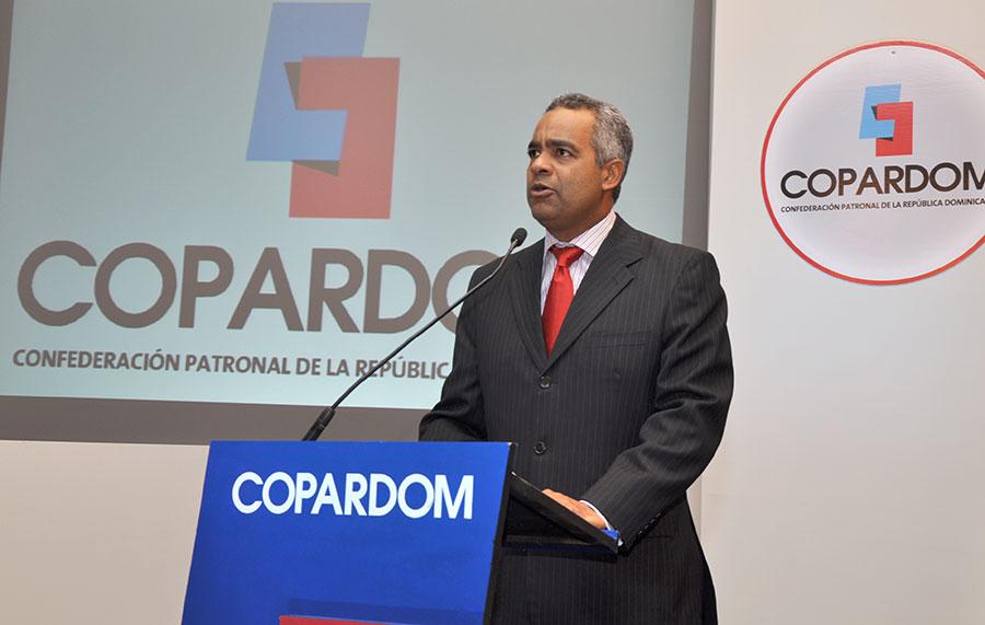 Joel Santos, presidente de Copardom.