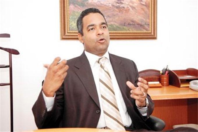 Joel Santos, presidente de la Confederación Patronal Dominicana (Copardom).