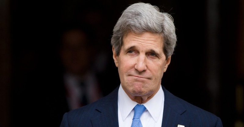 John Kerry.  Leon Neal. AFP, Getty Images.