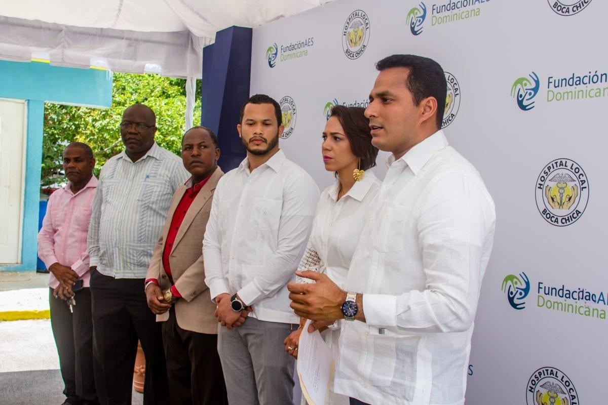 jorge jiménez, director del proyecto gasoducto del este, expreso que esta obra forma parte de los proyectos que se ejecutan a través de la fundación aes dominicana.
