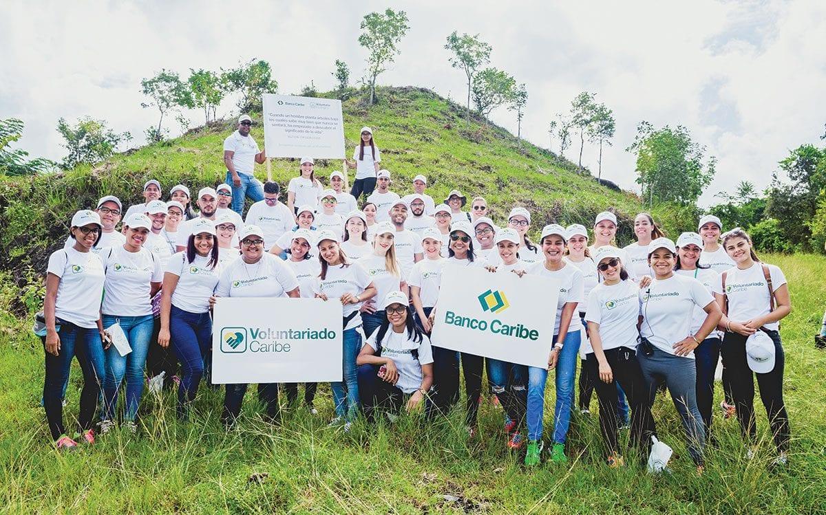 jornada de reforestacion banco caribe