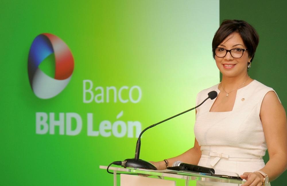 Josefina Navarro, vicepresidenta de Comunicación Corporativa del BHD León./elDinero